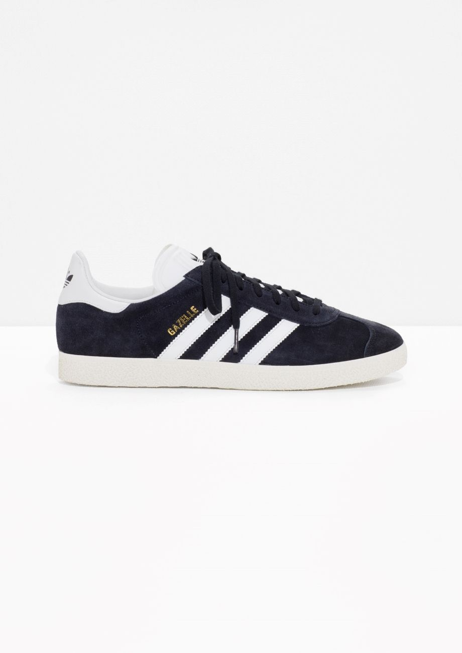on sale 99288 3d7a1 Other Stories image 1 of adidas Gazelle in Black