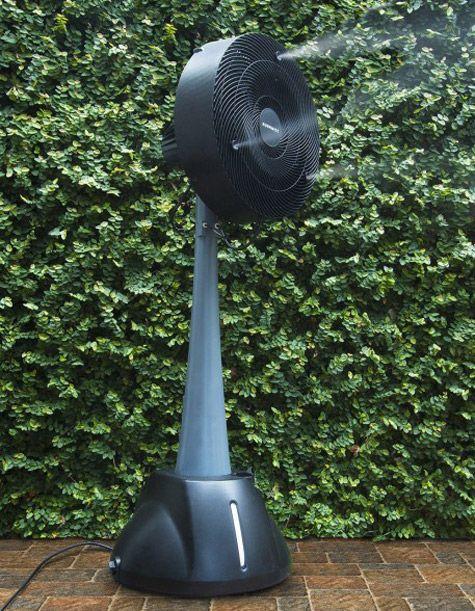 Auramist Milo - Hoseless Evaporative Misting Fan   Gardening