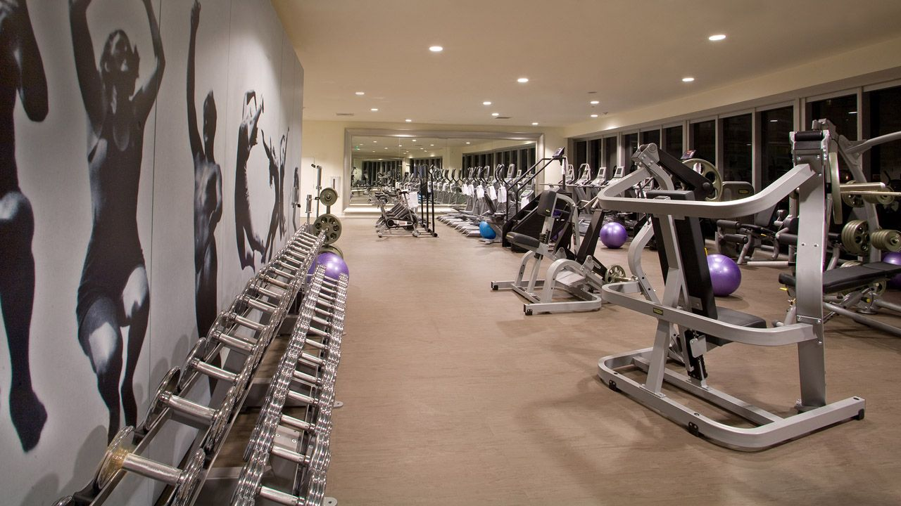 Fitness Center Large Graphics Gym decor, Gym interior