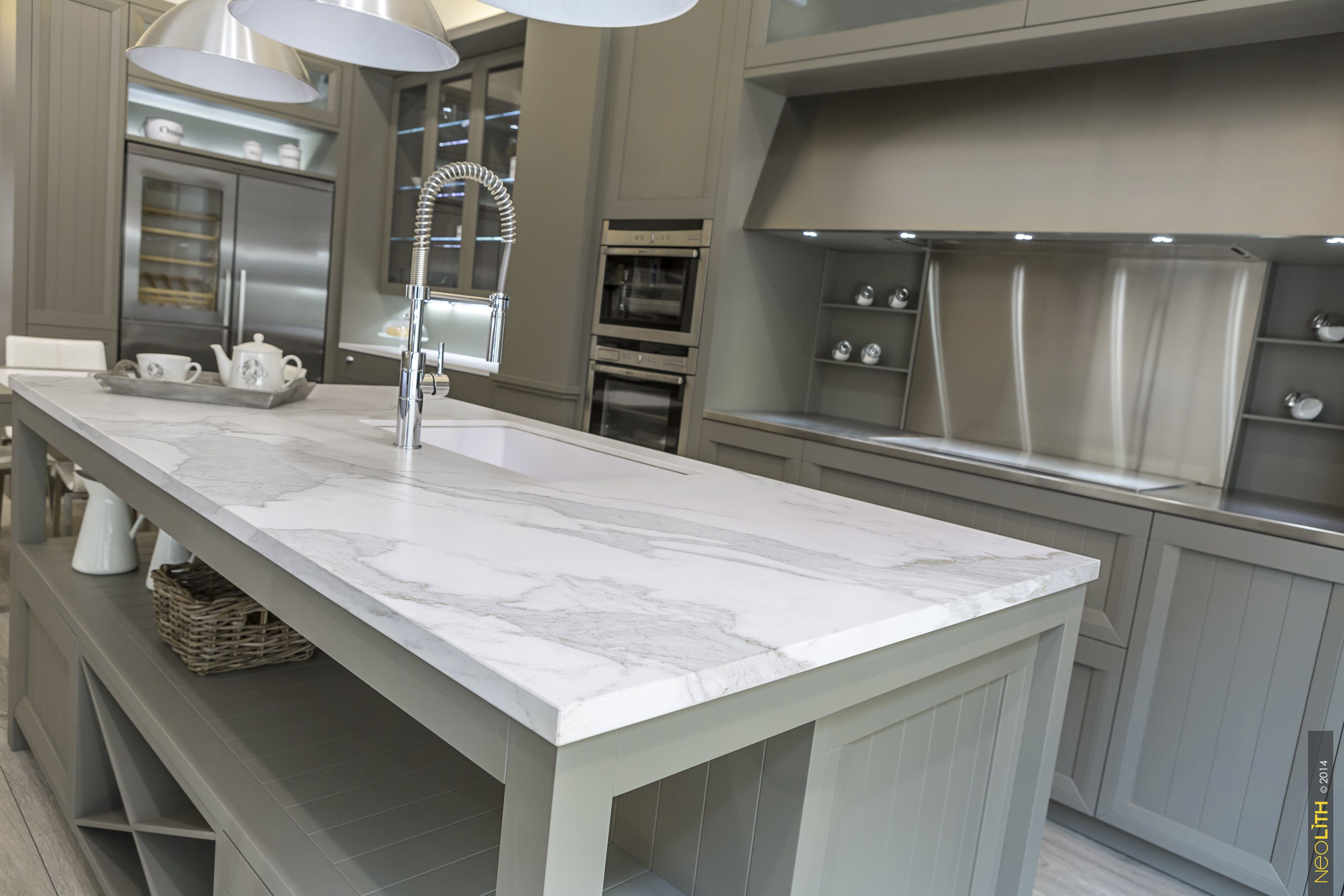 Neolith Calacatta Is An Elegant Marble Inspired Matte
