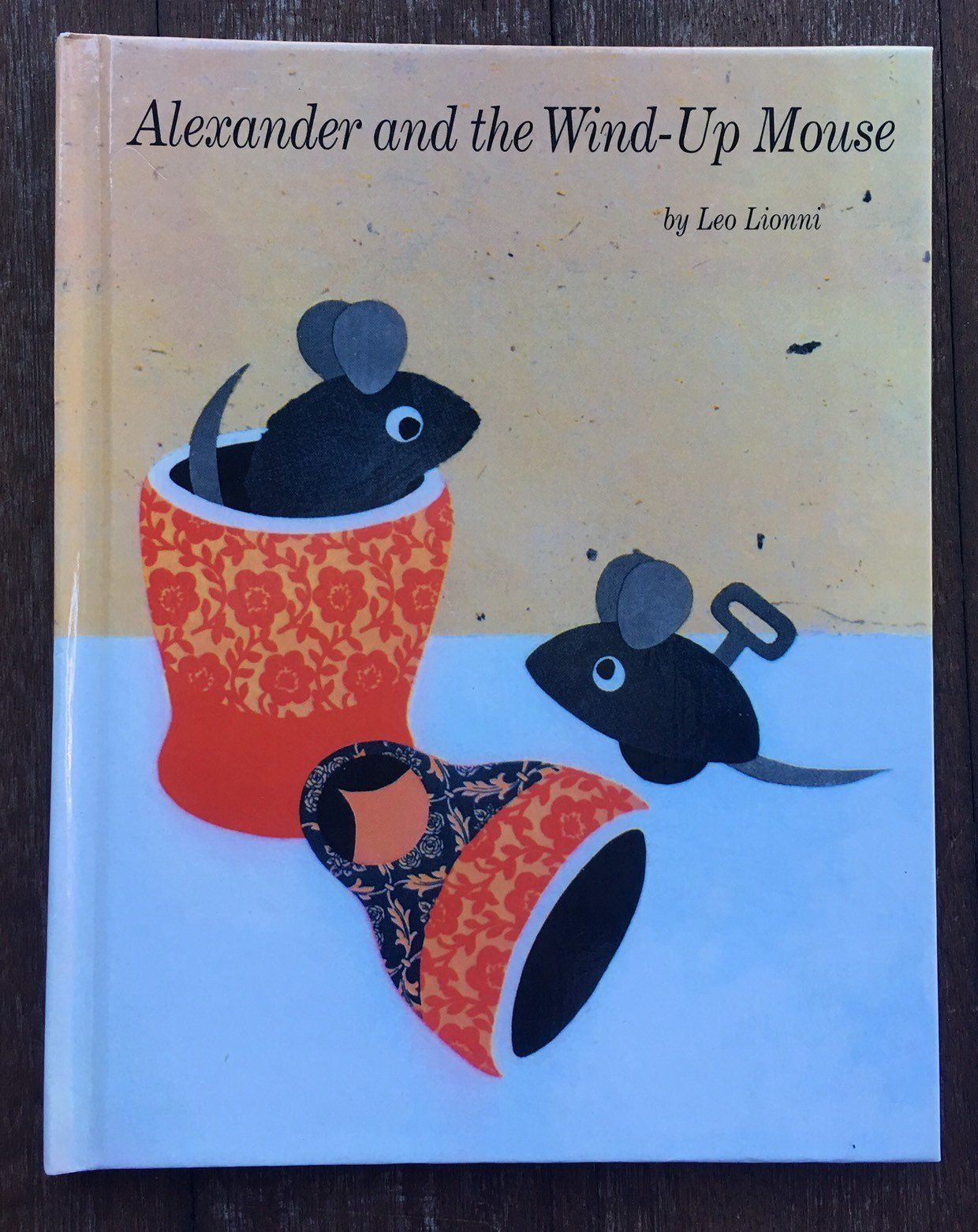 Alexander and the Wind-Up Mouse, Leo Lionni, Weekly Reader, newer hardcover  edition, children's book by peaseporridgepress1 on Etsy