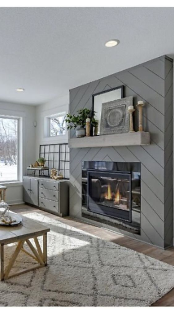24 Fireplaces Home Decor You Will Definitely Want To Try #fireplace #livingroom #homedecor #f...