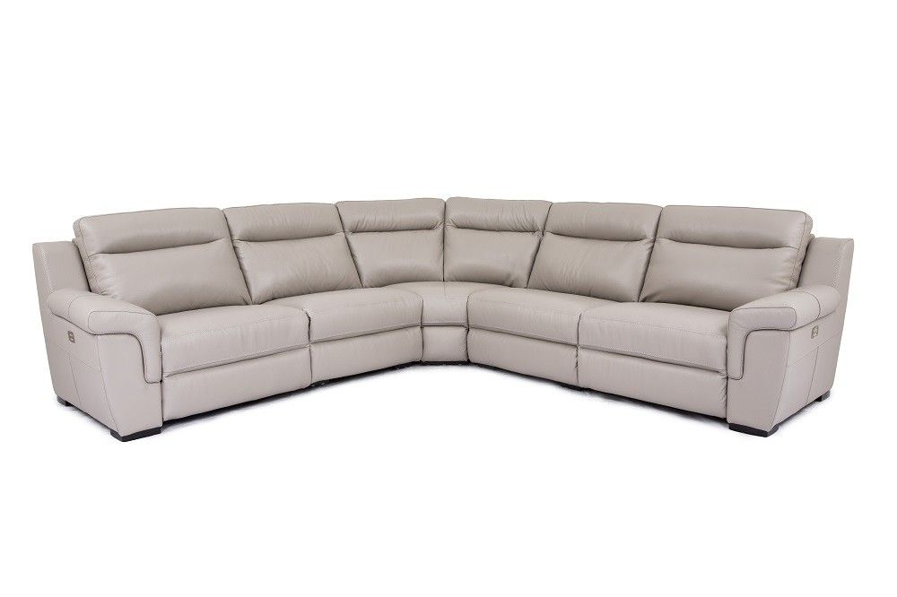 Luxury Corner Sectional L Shape Sofa With Images Leather