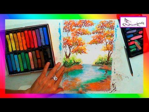 Como Pintar Con Pastel Seco Gis Pastel Y Pastel Graso Oleo Pastel Parte 1 Youtube Tiza Pastel Pintar Con Pastel Arte En Colores Pastel Al Oleo
