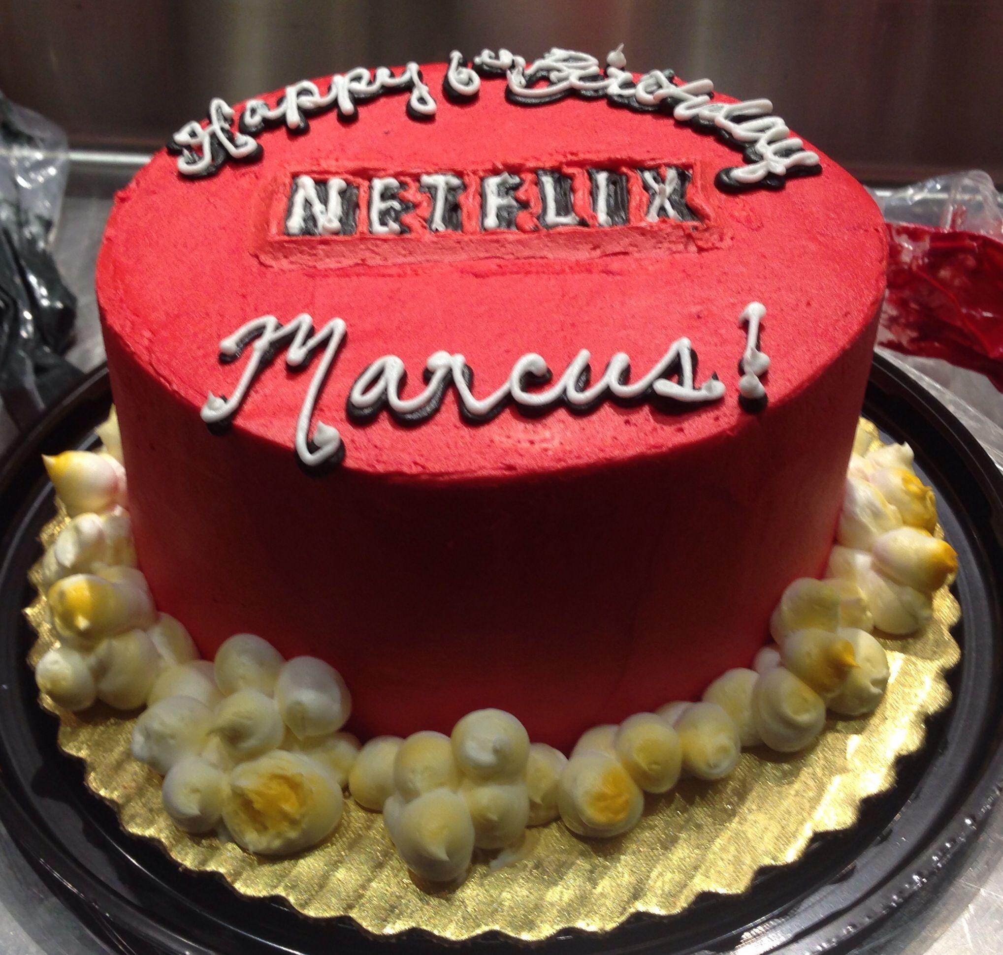 Netflix Cake Cakes Pinterest Cake Birthday Cake And Occasion