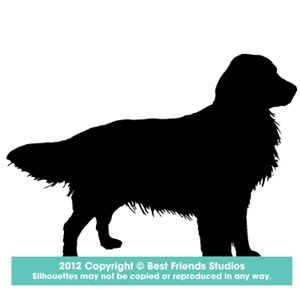 Golden Retriever Dog Breed Silhouette Dog Art Dogs Golden