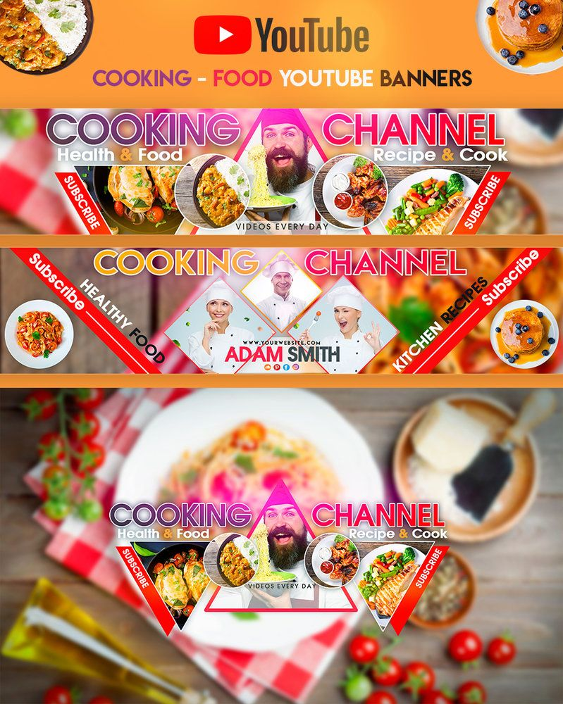 Cooking food youtube banners by youtubebanners bakery banner cooking food youtube banners by youtubebanners bakery banner black chef clean forumfinder Choice Image