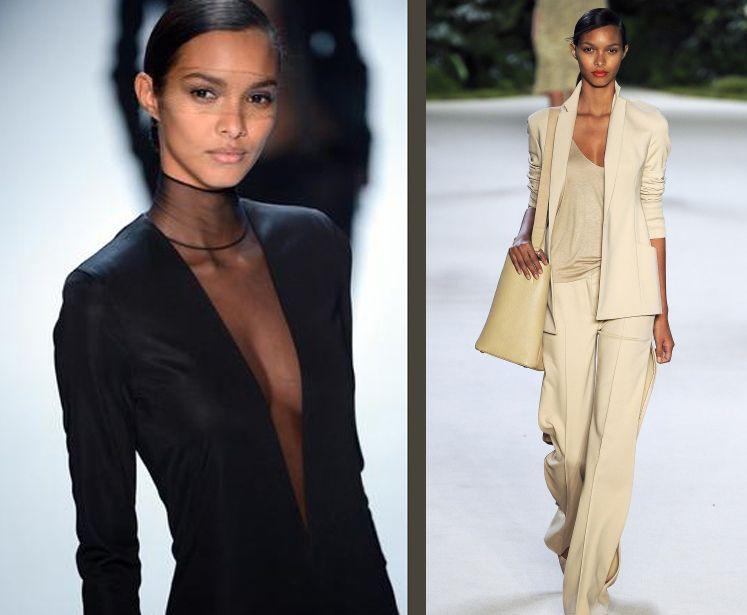 As brasileiras nas passarelas da semana de moda de Paris (Fotos: Reprodução)
