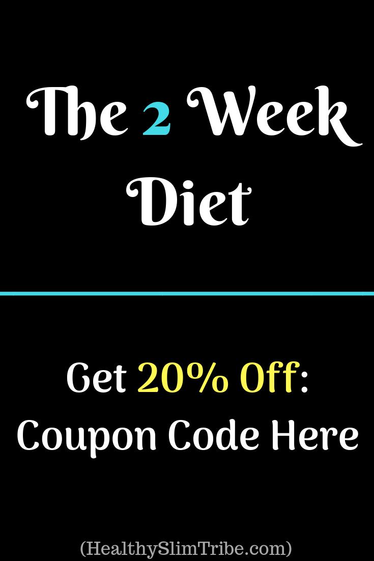 promo code for 2 week diet plan