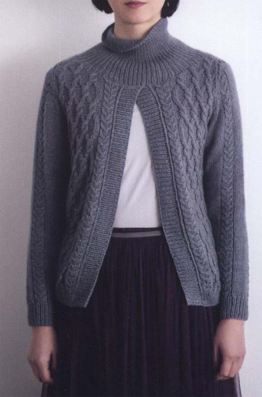 Aran sweater knitting pattern free #knittingpatterns # ...