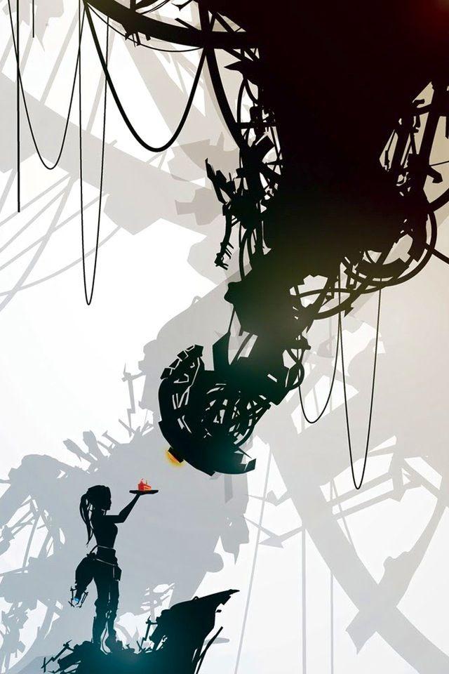 portal glados chelle video game artwork fan art