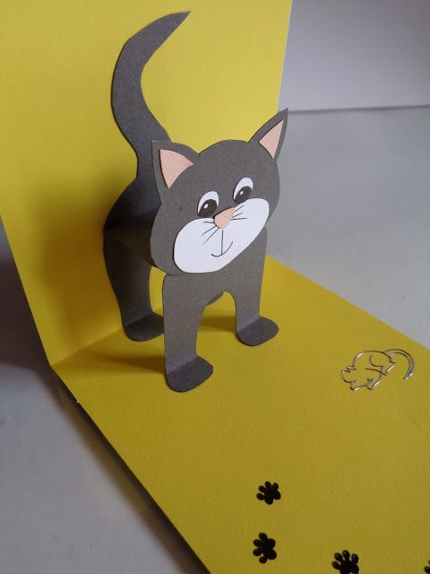 La souris dodue: Pop-up #katzengeburtstag