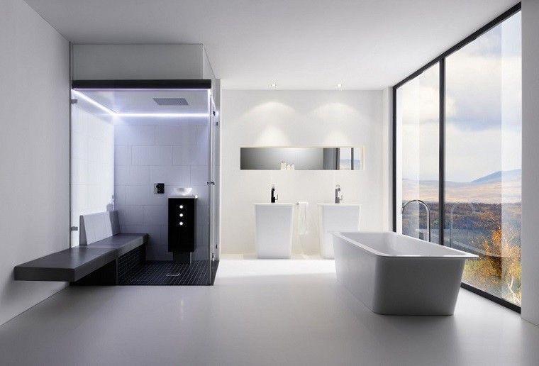 Diseño de baños modernos - 60 ideas fantásticas | Diseño de baños ...