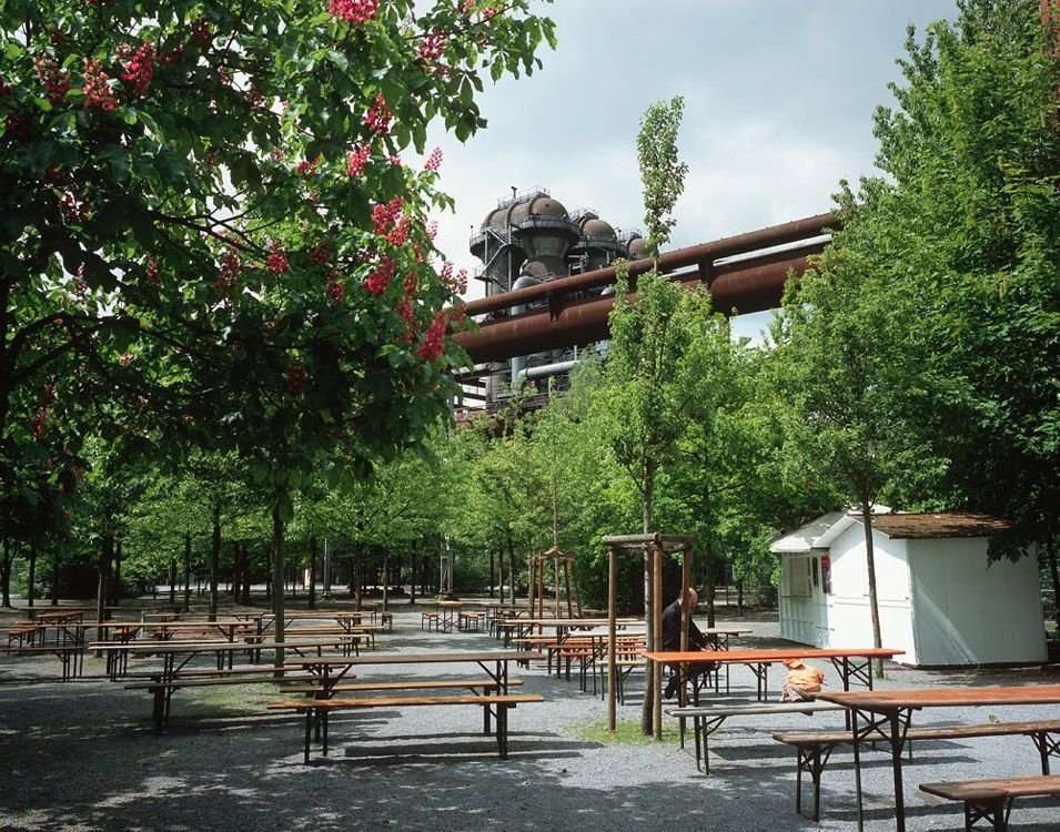 08 Blast Furnace Park Baumplatz Landscape Architecture Works Landezine Landscape Architecture Industrial Architecture Landscape Architecture Park