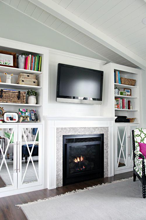74 Diy Fireplace Built In Tutorial