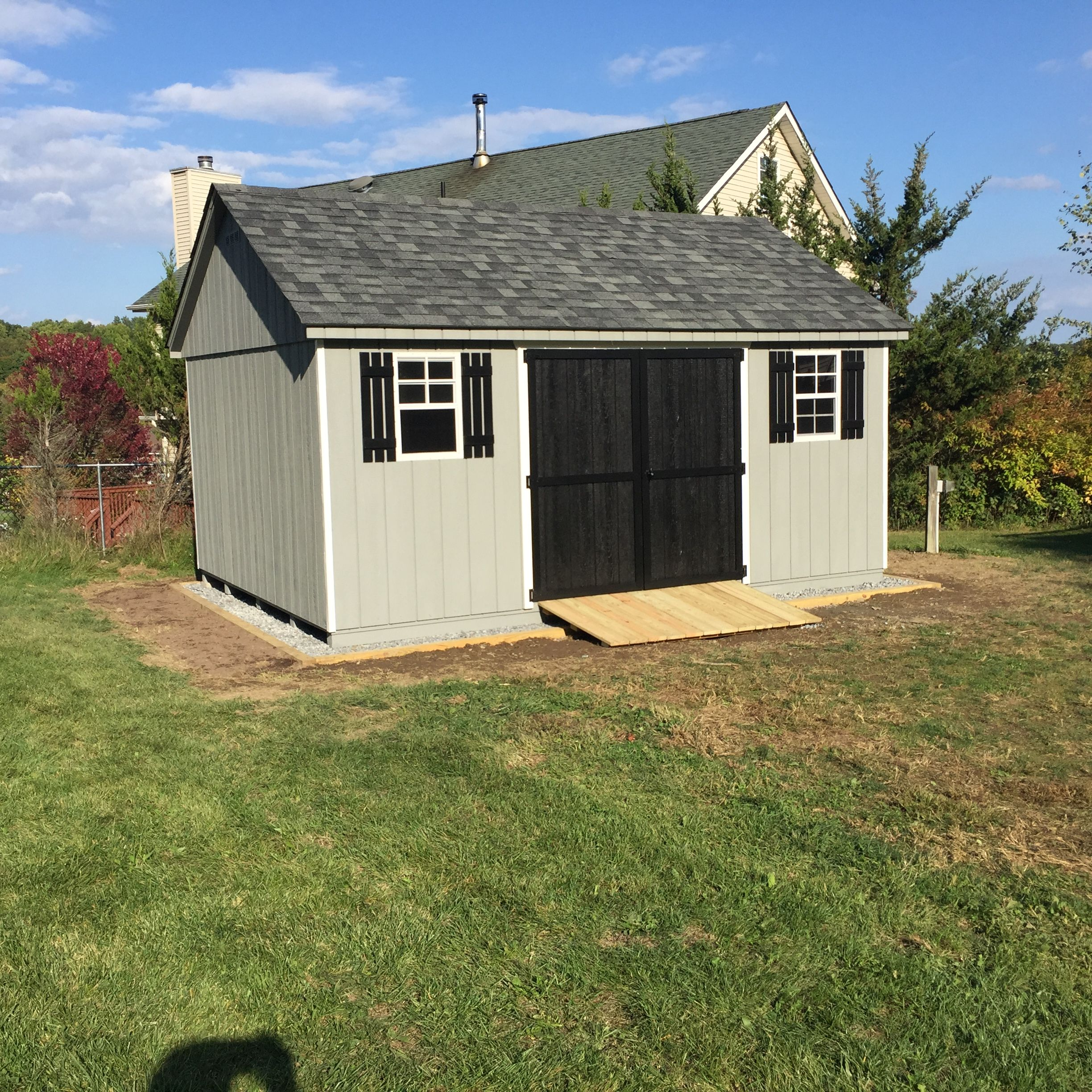 A high quality storage shed is the perfect addition to Shed addition