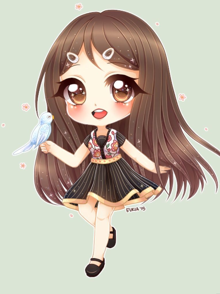 Pin by zahra shamea on eman al saihati cute anime chibi anime chibi chibi - Dessin manga kawaii ...