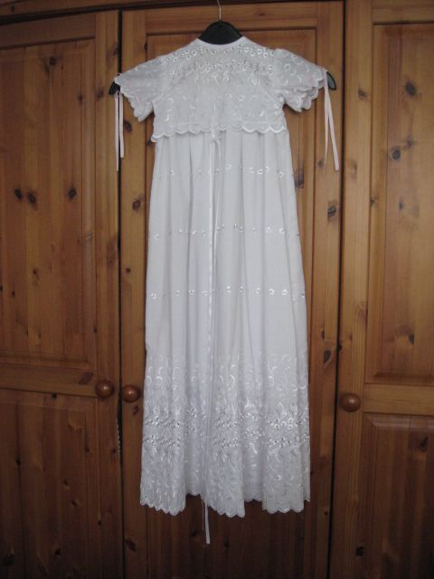 Lily's christening gown (2002)