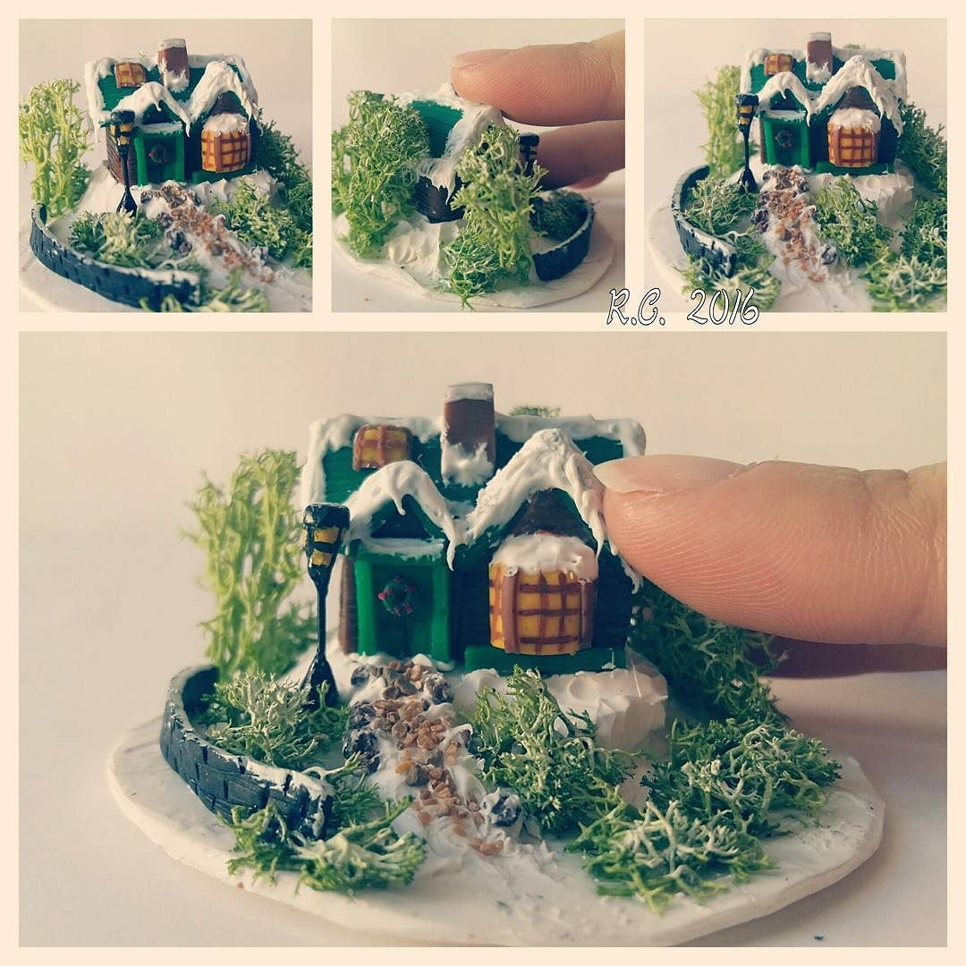 New creation  #new #creation #polymerclay #fimo #handmadebyme #handmade #handmadewithlove #byme #withlove #tinyhouse #sotiny by raffaella988
