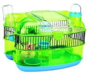 Petville Hamster Starter Cage Description The Perfect First Home For Your Pet Easy To Unlock And Clean Hide And Play P Small Pets Animal Habitats Starter Home