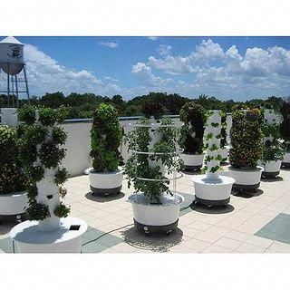 Aeroponics System Tower Gardens This Would Be Very Easy 400 x 300