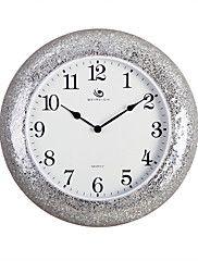 Modern/Contemporary Polyresin Round Wall Clock ... – USD $ 99.99