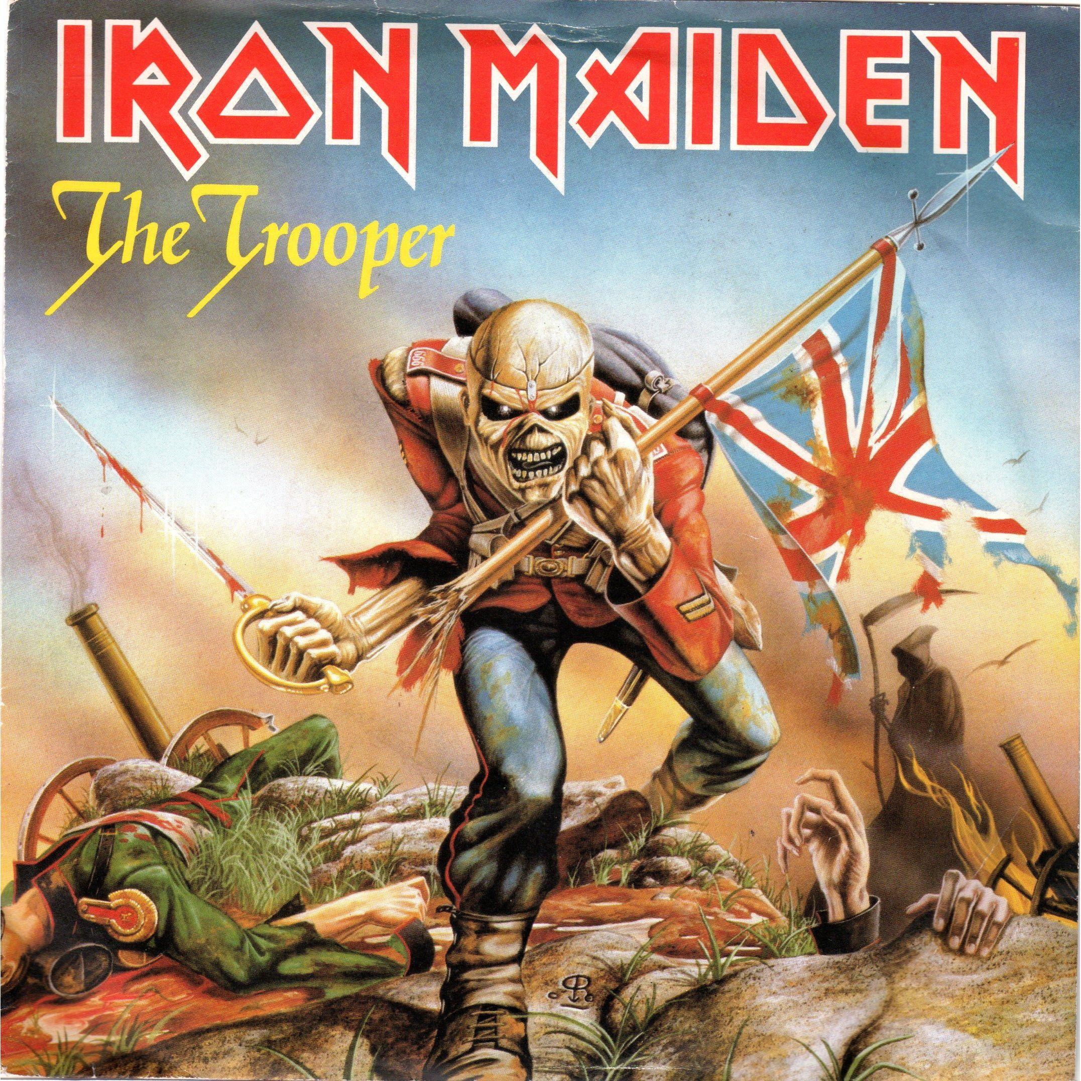 The Trooper 12 Album Cover Iron Maiden Iron Maiden Albums Iron Maiden Posters Iron Maiden The Trooper