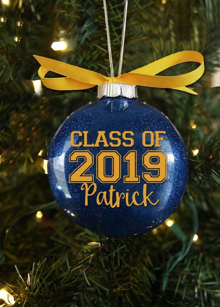 Personalized Graduation Ornament High School Grad