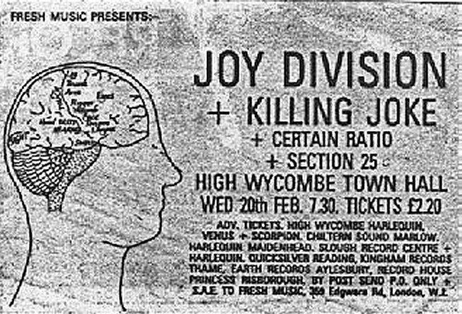 Joy Division Vintage Joy Division Joy Division Concert