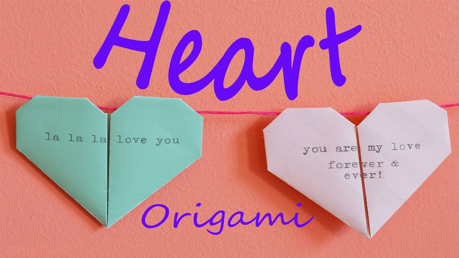 Origami heart instruction how to make an origami heart very heart instruction video very cool origami jeuxipadfo Image collections