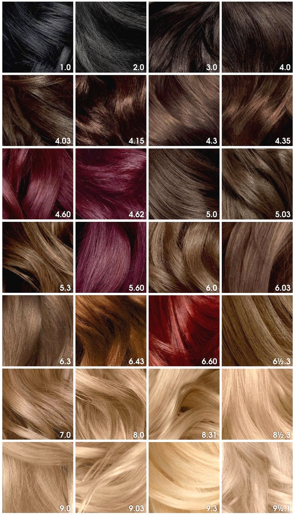 Pin By Marco Latif On Beauty Olia Hair Color Hair Color Chart Hair Color Shades