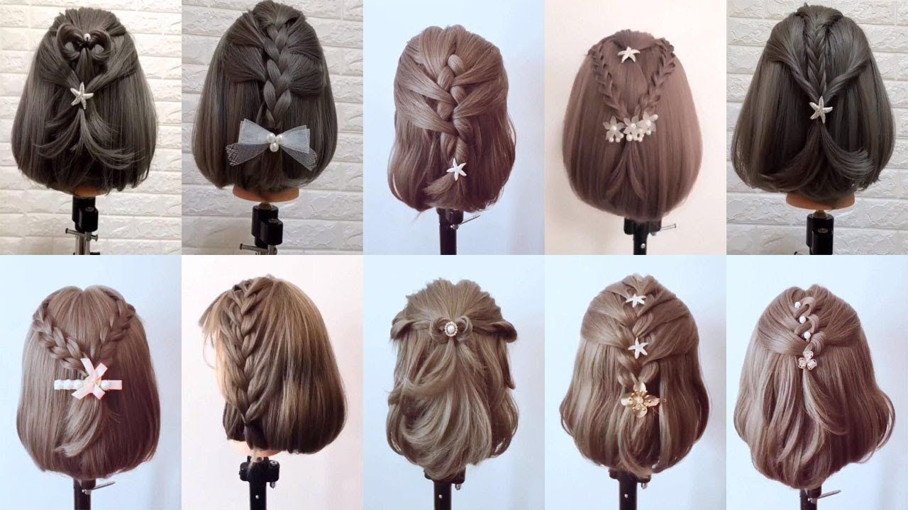 simple beautiful hairstyle - best hairstyle in the world