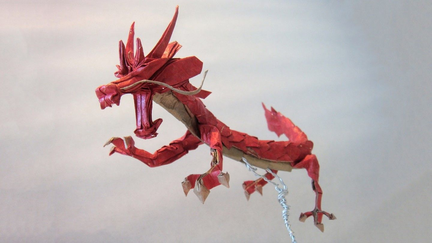 I M Just Winging This Post Full Of Incredible Eastern Style Origami Dragons In 2020 Origami Dragon Easy Origami Dragon Useful Origami