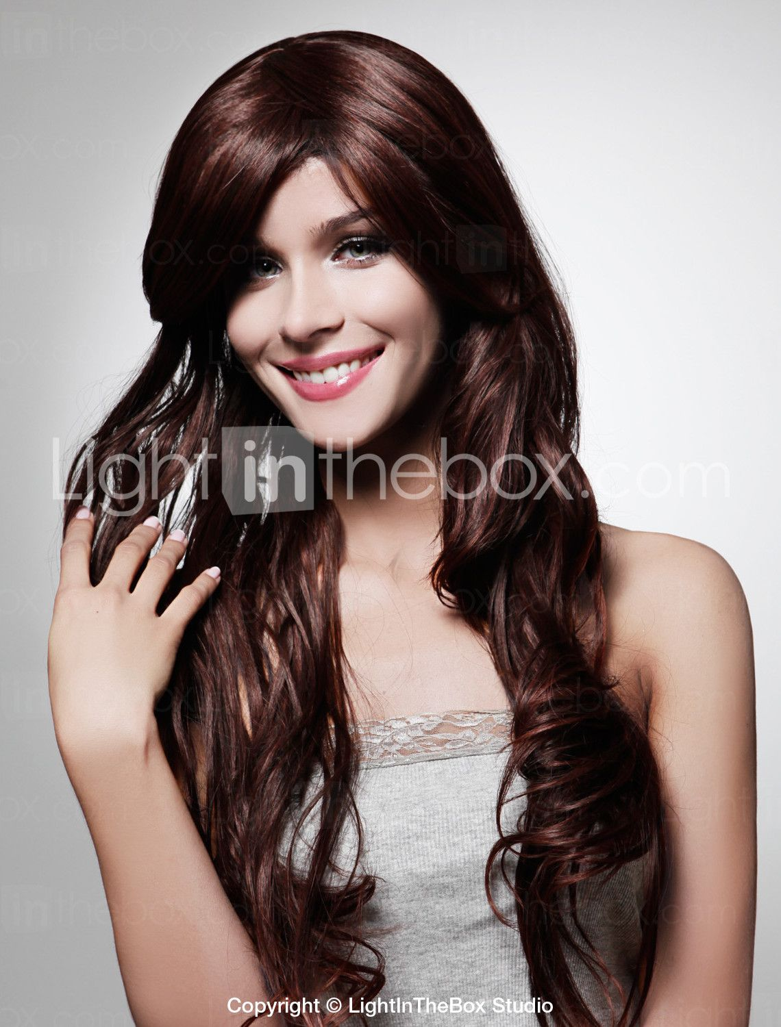 Wig: Perhaps a tad too red? £22.72 NOPE
