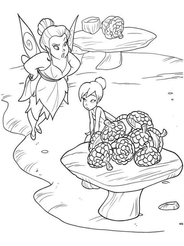 free coloring pages tinkerbell and friends. We have a ...