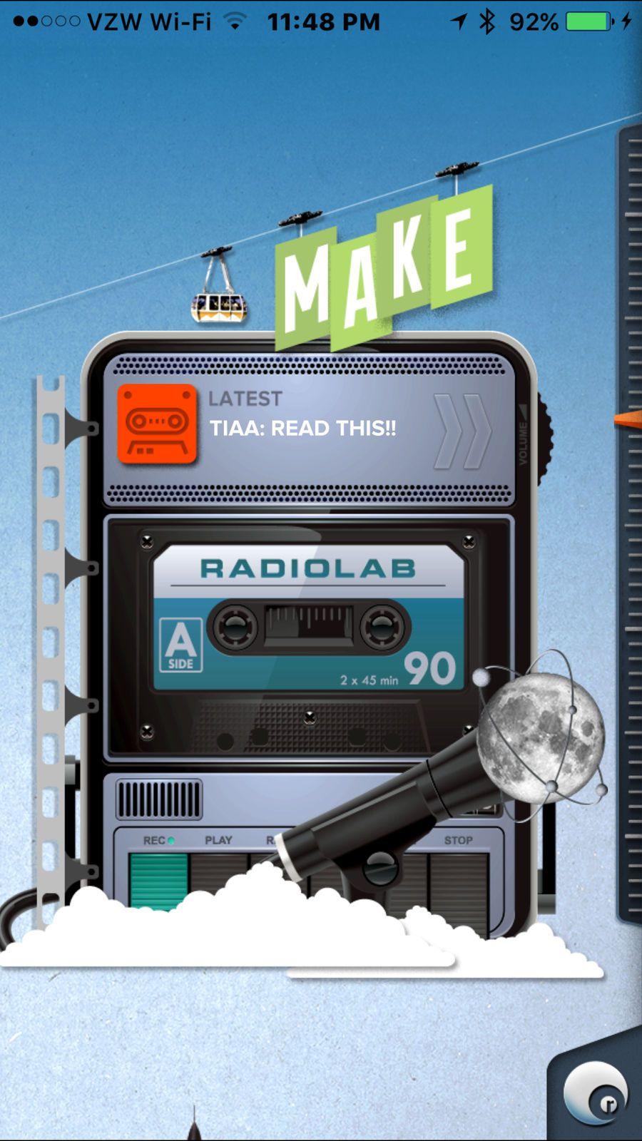 Radiolab LifestyleEntertainmentappsios Radiolab