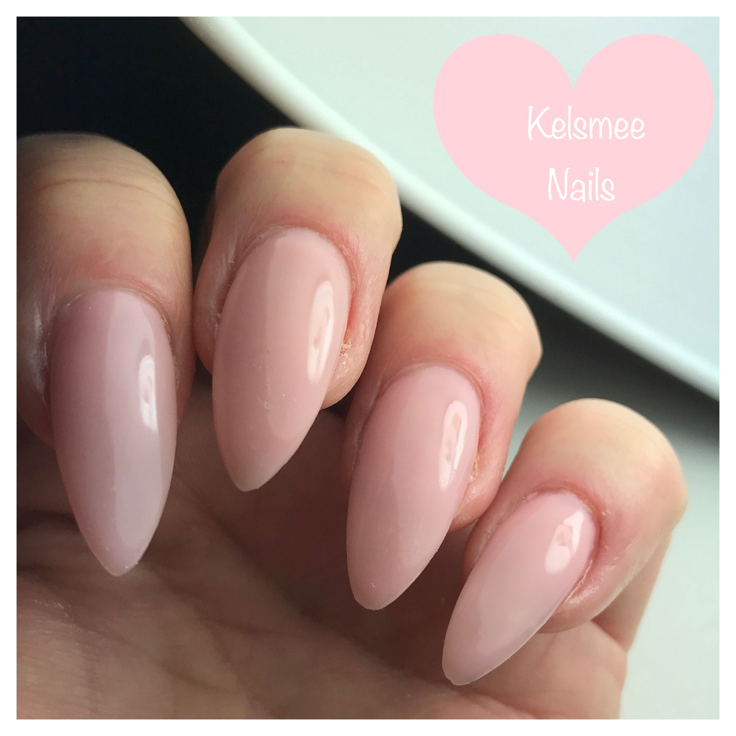 Young Nails Acrylic White Cover Pink For Your Only