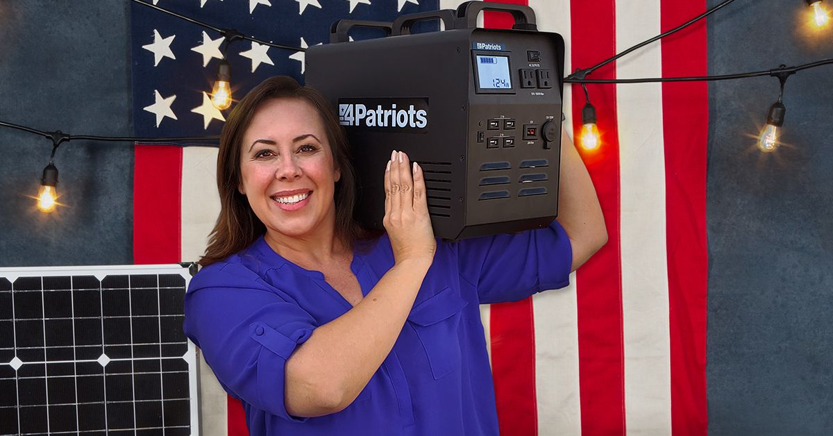 4patriots solar camping powered worth weight its