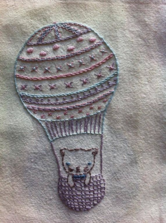 the balloonists embroidery pattern pdf