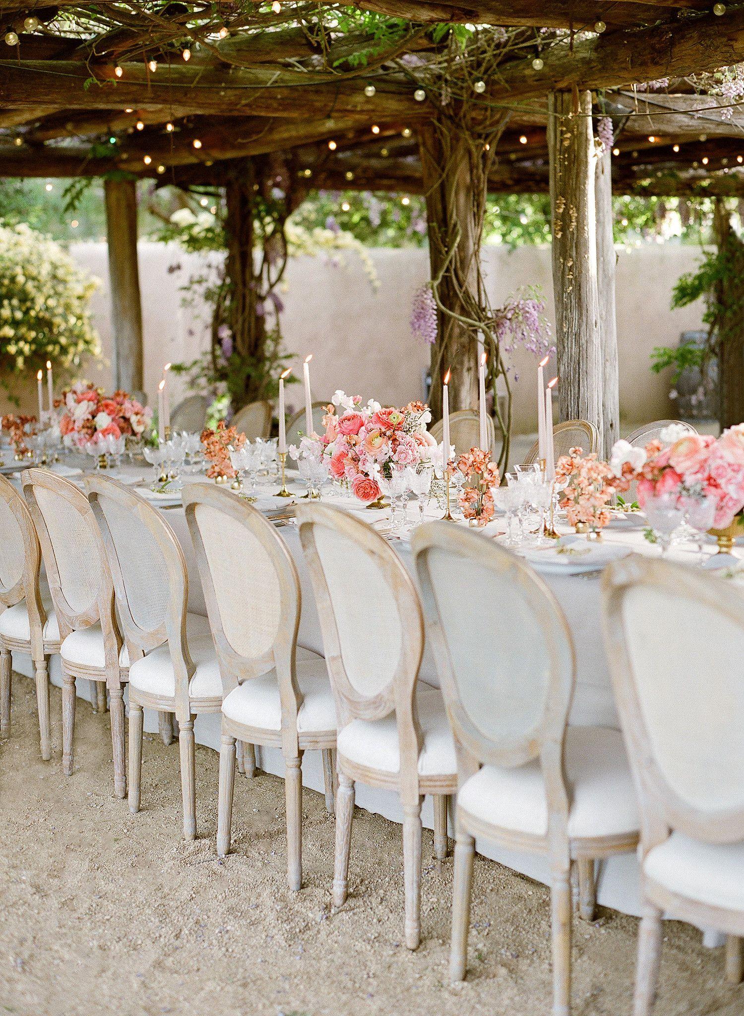 An Intimate Destination Wedding In Santa Ynez Valley California Destination Wedding California Martha Stewart Weddings Wedding Chairs