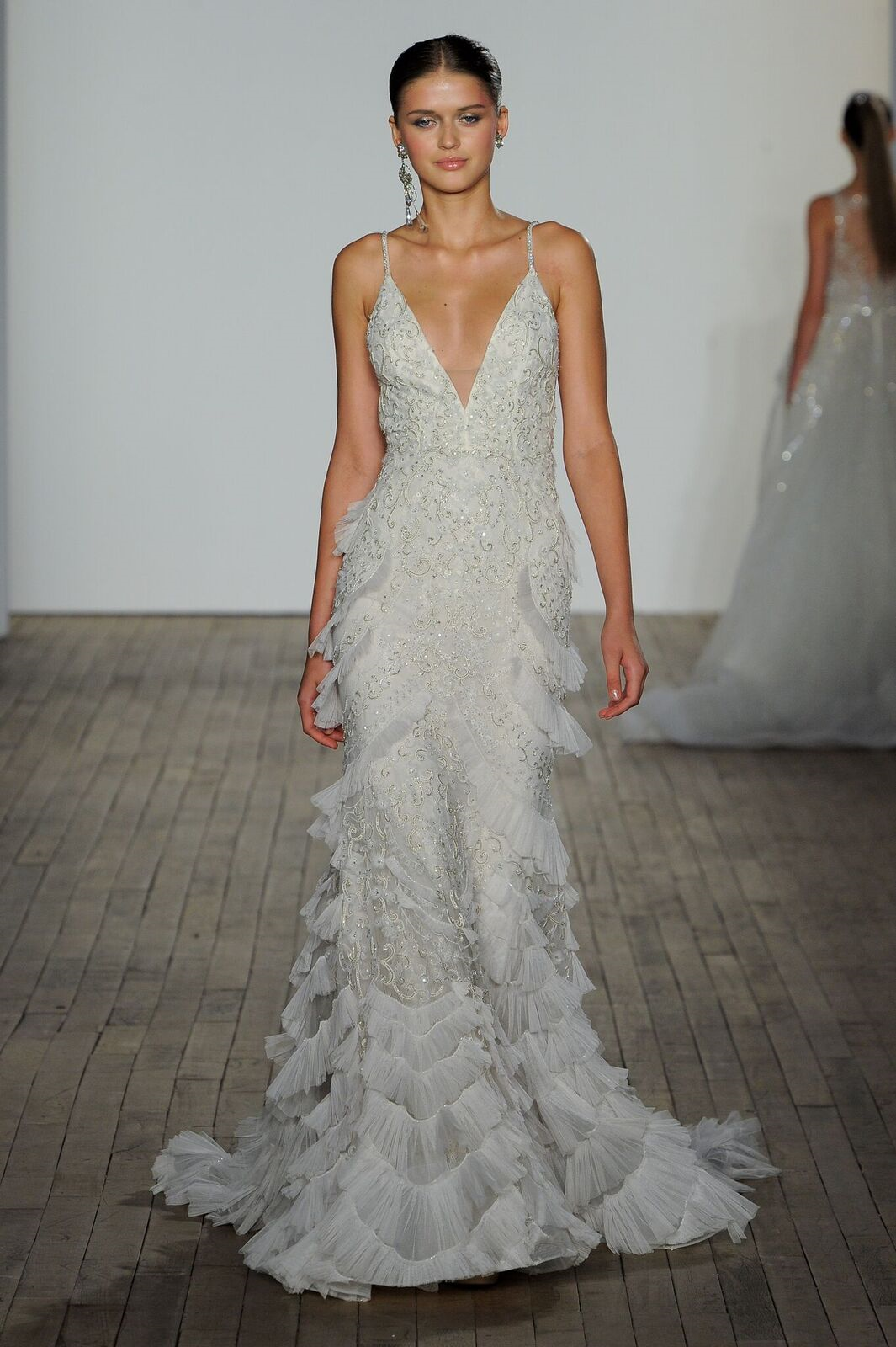 Lazaro Style 3901 Tatiana Lazaro Wedding Dress Wedding Dresses Bridal Outfits