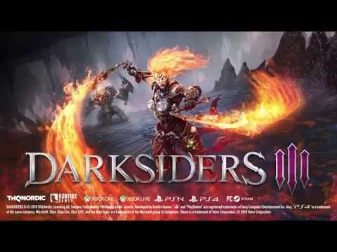 DARKSIDERS 3 Official Gameplay Trailer 2018 PS4 Xbox One ...