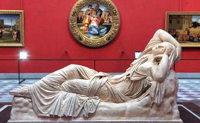 Arianna dormiente, Galleria degli Uffizi, Firenze - Florence (Italy).