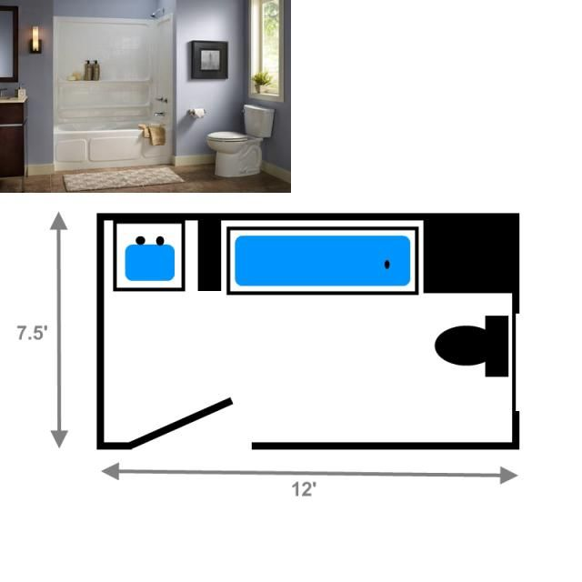 78 Best images about House plans and Facades on Pinterest Toilets Small  houses and Long narrow. Small 3 4 Bathroom Floor Plans