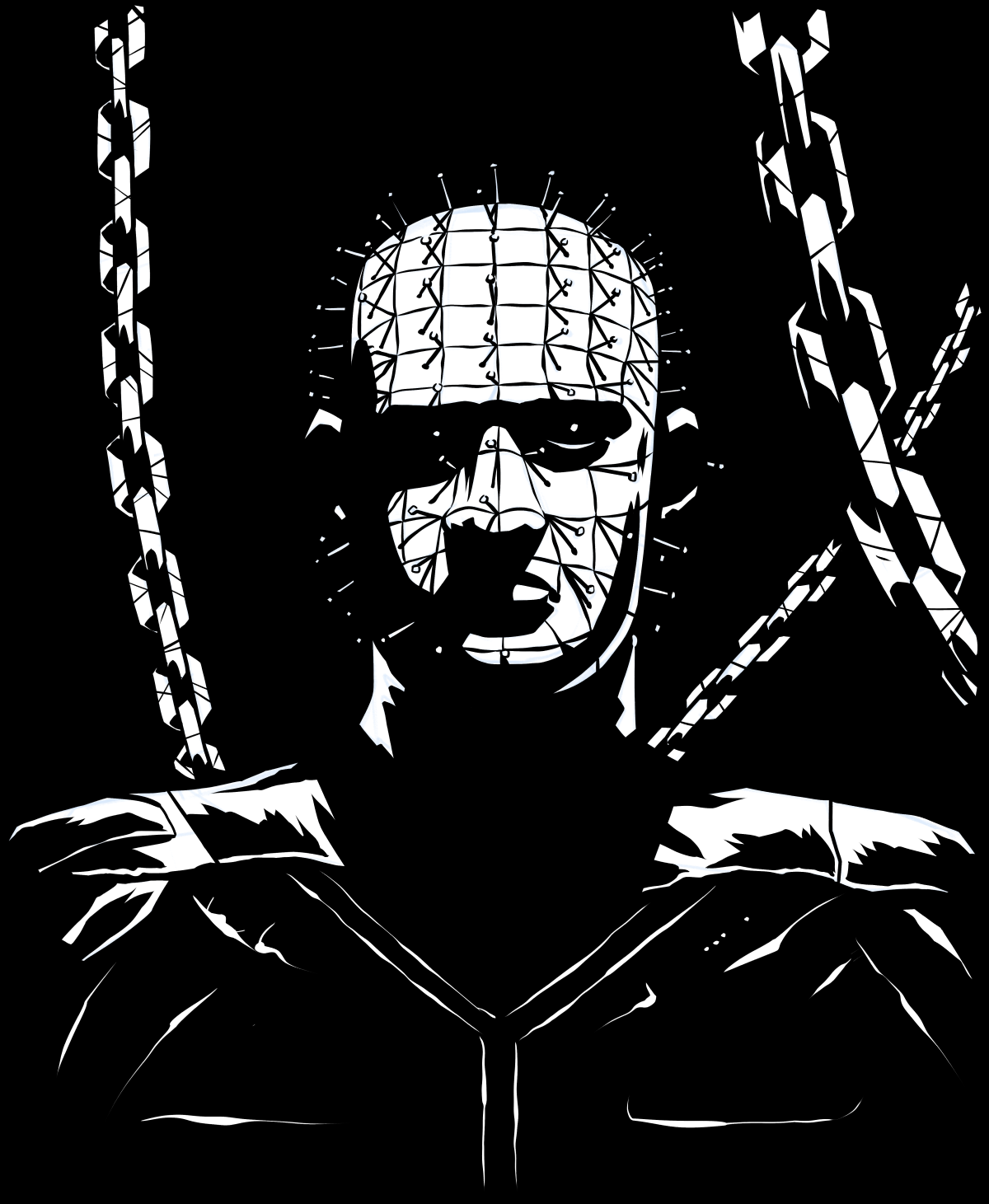 Inktober Day 2: Pinhead (With Images)