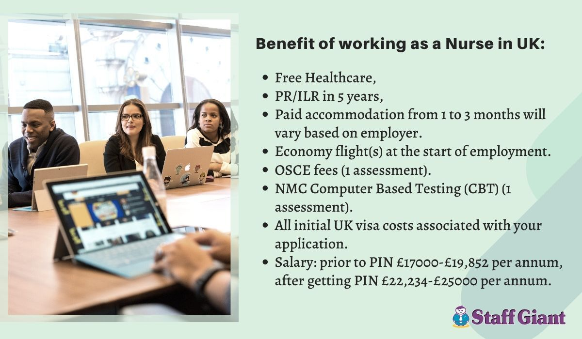 Benefits of working as a nurse in the uk healthcare