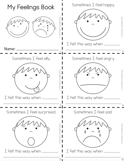Feelings Complete Bundle | Feelings activities, Emotions ...
