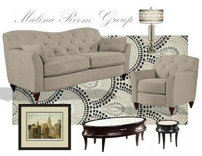 Lazboy Quot Malina Quot Sofa Group With Hammary Tables Lazboy