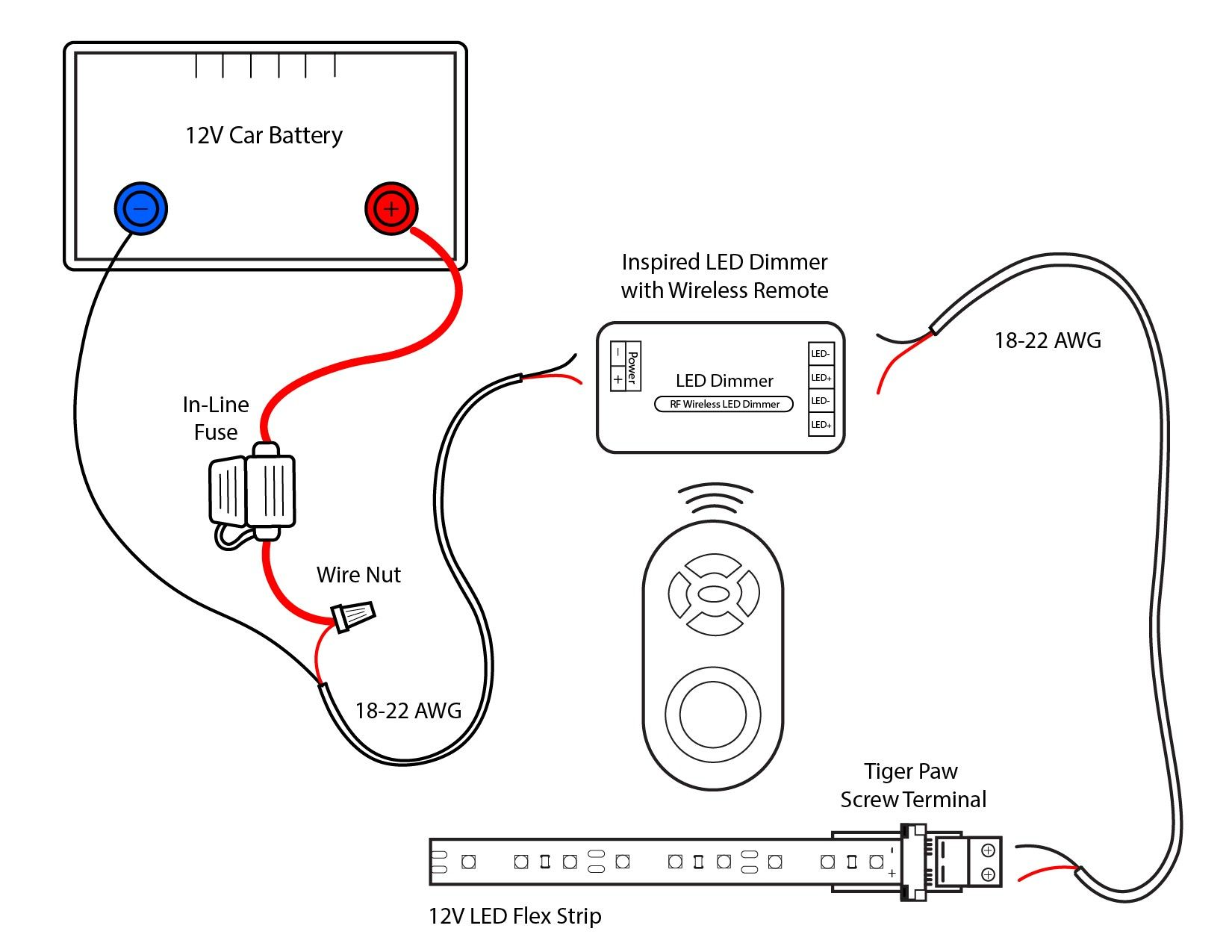 Wiring Diagram For Led Lights In A Car