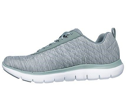 Skechers Flex Appeal 2.0 High Energy Women Trainers in Slate